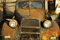 The old automobile Stock Photo
