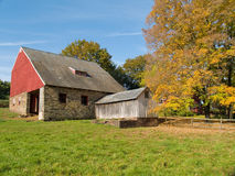 Old Autumn Barn Royalty Free Stock Photo