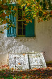 Old Autumn Exterior Royalty Free Stock Photos