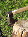 Old ax Royalty Free Stock Image