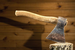 Old axe Royalty Free Stock Photo