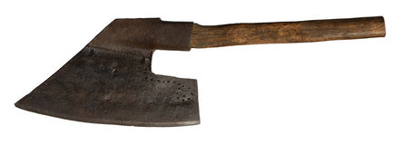 Old axe Stock Images