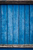 Old background with blue paint Stock Photos