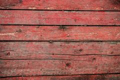 Old Background, Cracked Surface, Paint With Scratches, Wet Painted Wood And Boards. Royalty Free Stock Photo