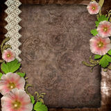 Old background for invitation or congratulation (1 Royalty Free Stock Image