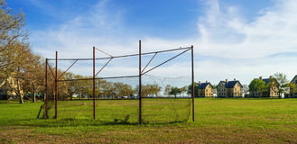 Old Backstop Royalty Free Stock Photography