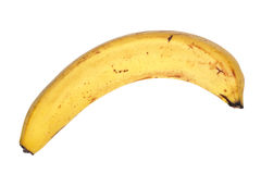 Old bad banana Stock Photography