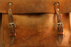 Old bag - detail. Old bag in retro style Royalty Free Stock Images