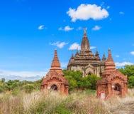 Old Bagan in Bagan-Nyaung U, Myanmar Royalty Free Stock Photography