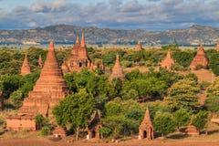 Old Bagan in Bagan-Nyaung U, Myanmar Stock Photography