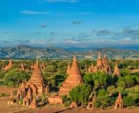 Old Bagan in Bagan-Nyaung U, Myanmar Royalty Free Stock Photos