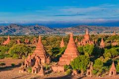 Old Bagan in Bagan-Nyaung U, Myanmar Stock Photo