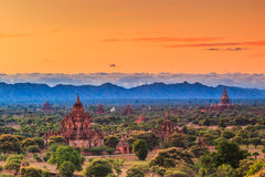 Old Bagan in Bagan-Nyaung U, Myanmar Royalty Free Stock Photo