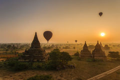 Old Bagan, Myanmar Stock Images