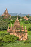 Old Bagan pagodas and temples Royalty Free Stock Photography