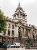 The Old Bailey facade and dome, London Royalty Free Stock Photo