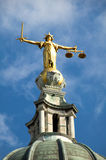Old Bailey (Lady Of Justice) Stock Photography