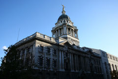 Old Baily criminal court. Building, London England Stock Photos