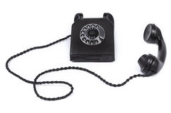 Old bakelite telephone Royalty Free Stock Photography
