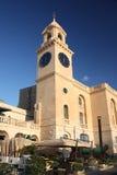 The Old Bakery Clocktower, Malta royalty free stock photo
