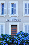 Old bakery in france Stock Images