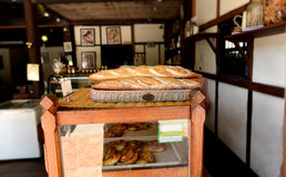 Old bakery shop in laos Stock Photo
