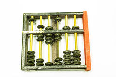 Old balck abacus Stock Images