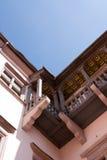 Old balcony Royalty Free Stock Photo