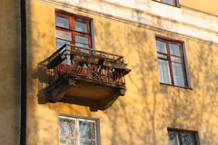 Old balcony. Stock Images