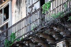 Old balcony Royalty Free Stock Photography