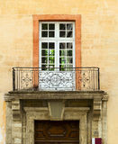 Old balcony of the building Royalty Free Stock Photo