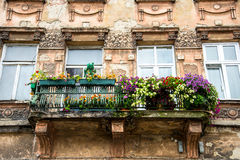 Old balcony Royalty Free Stock Images