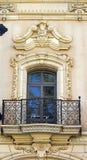 Old  balcony on a historic building,San Diego Royalty Free Stock Photos