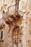 Old balcony, Syracuse, Italy Royalty Free Stock Photography
