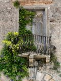 Old balcony in Tuscany Royalty Free Stock Photo