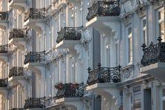 Old_balconys Fotografia de Stock Royalty Free