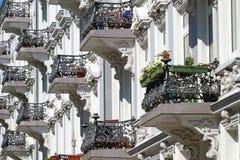 Old_balconys Fotos de Stock Royalty Free