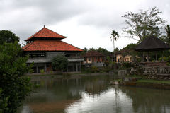 Old Balinese temple Stock Image