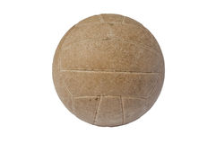 Old ball isolated Royalty Free Stock Image
