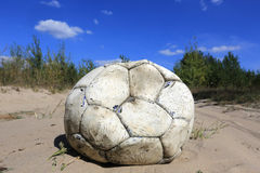 Old ball Stock Photo