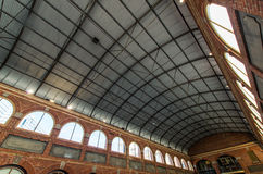 Old Ballarat Mining Exchange. The arched ceiling of the old Mining Exchange building in Ballarat, Australia.  It often hosts exhibitions and markets Royalty Free Stock Images
