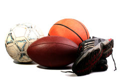 Old Balls Stock Images