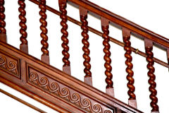 Old  balustrade Royalty Free Stock Photo