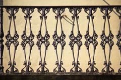 Old Balustrade. Made of iron in Tuscany / Italy Royalty Free Stock Image