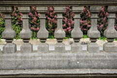 Old balustrade Stock Photo