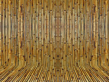 Old Bamboo. Backgrounds BG Old Wood wall texture Bamboo Royalty Free Stock Photo