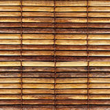 Old bamboo blinds stock photography