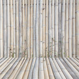 Old bamboo fence background Royalty Free Stock Images