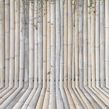 Old bamboo fence ,background Stock Image