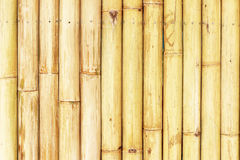 Old bamboo fence background. Old natural bamboo fence texture background Royalty Free Stock Photography
